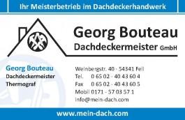 Logo: Georg Bouteau Dachdeckermeister GmbH