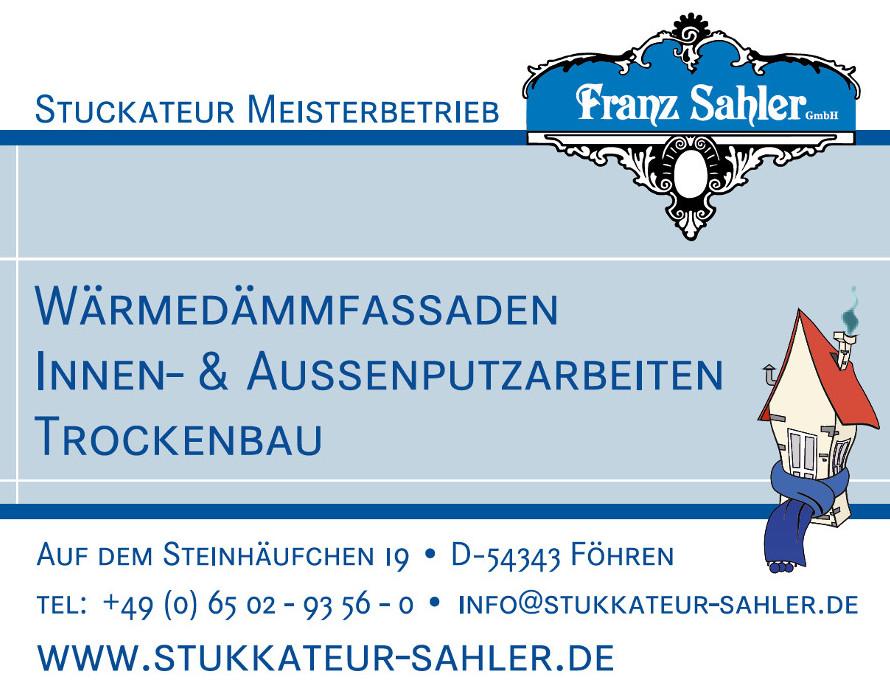Foto: Franz Sahler GmbH