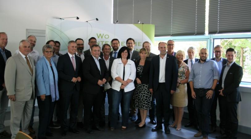 Foto: FDP-Besuch im Industriepark Region Trier 2017
