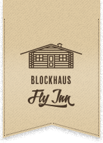 Logo: Restaurant Blockhaus Fly-Inn