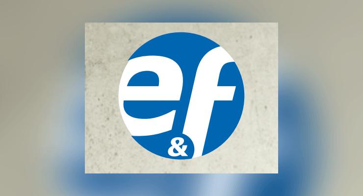 Logo: e&f Metall- und Rohrleitungsbau