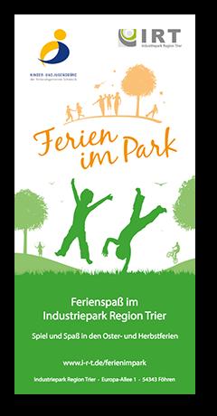 Ferien im Park Flyer